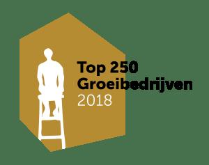 Top 250 groeibedrijven 2018