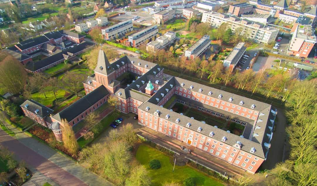 Gebouw van Breda University of Applied Science, klant van HR2day